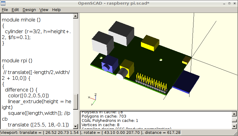 OpenSCAD Notes